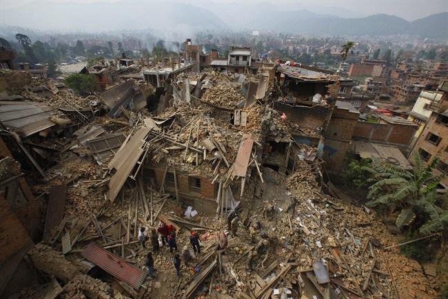 (AP / Niranjan Shrestha)